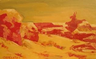 Aquelarre (60 x 40 cm) Oleo sobre tela